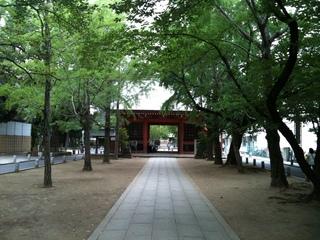 葛飾八幡宮山門.JPG